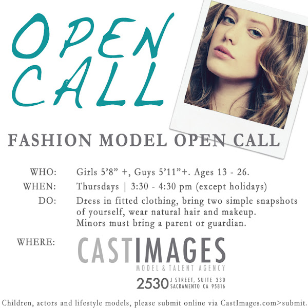 Cast Images Model Open Call