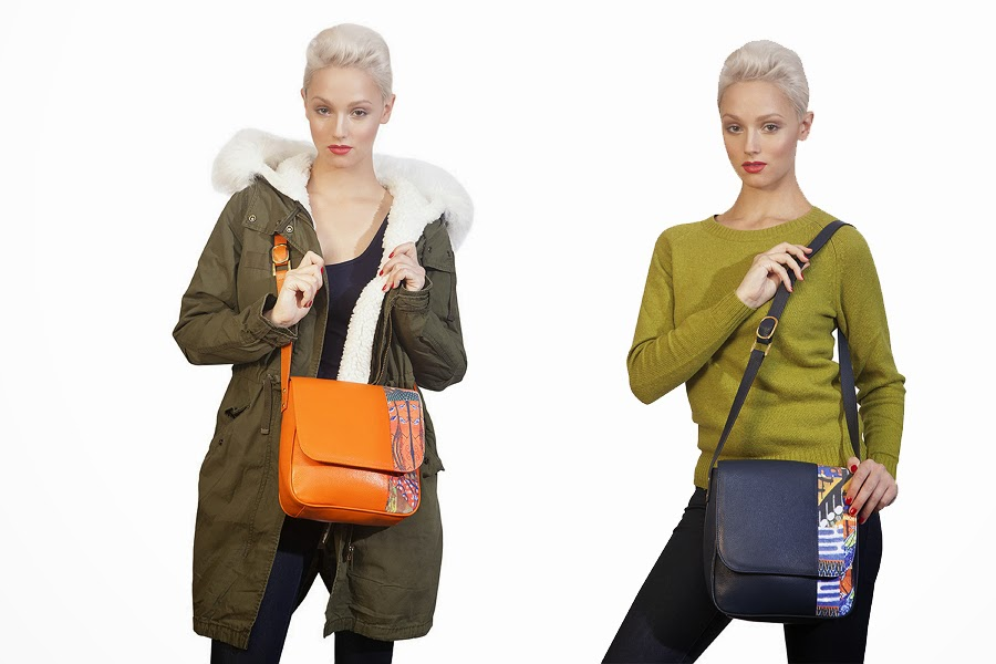 African print fashion handbags by mefie