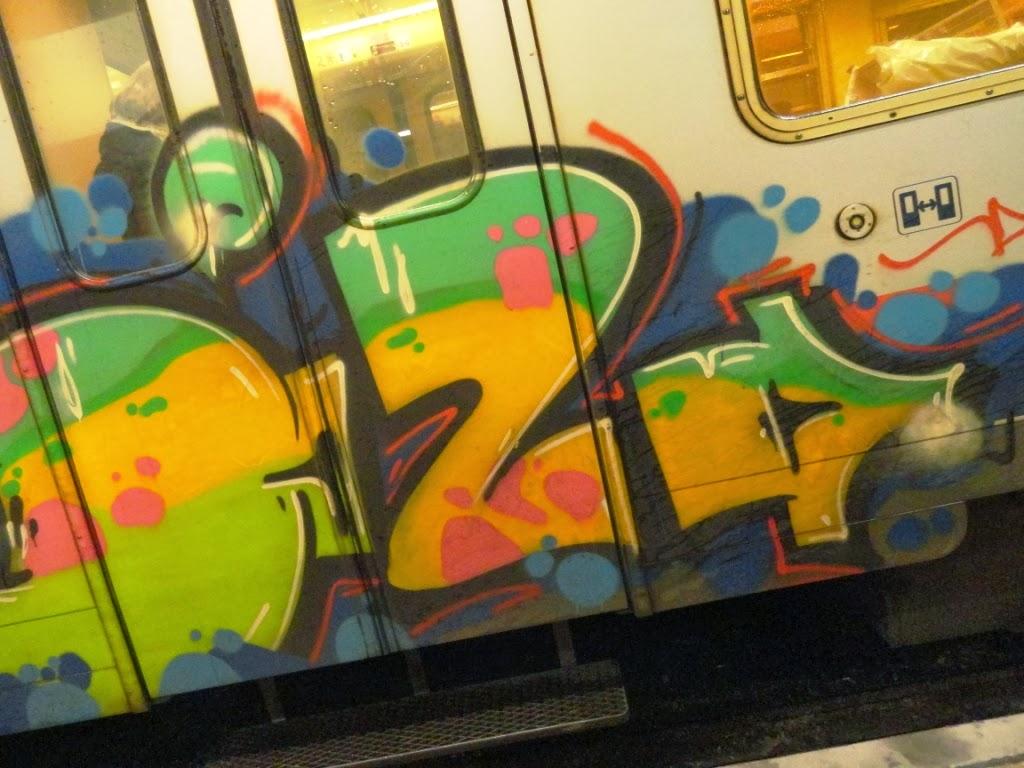 Fucker dude i did train graffiti