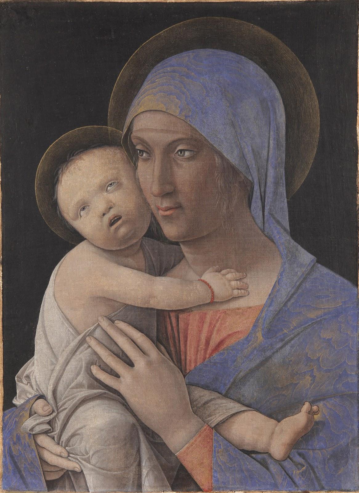 Il restauro della «madonna con il bambino» di andrea mantegna