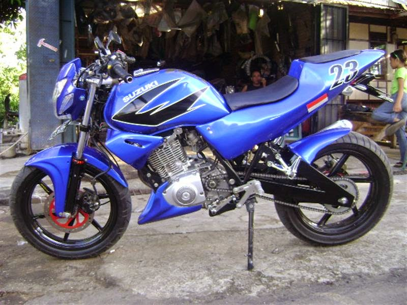 modifikasi motor thunder 2012