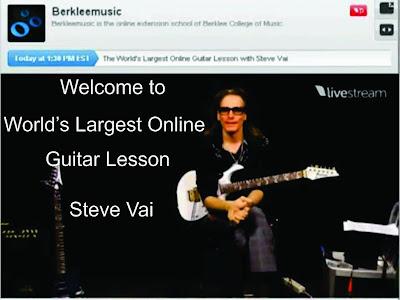 belajar gitar, belajar gitar pemula, Steve Vai, tips bermain gitar,