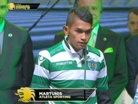 Martunis Gabung Akdemi Sporting Lisbon