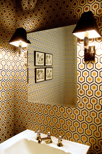 Baños Estilo Art Deco: de la Casa: Diseño de baños Art Deco que inspiran a relajarte