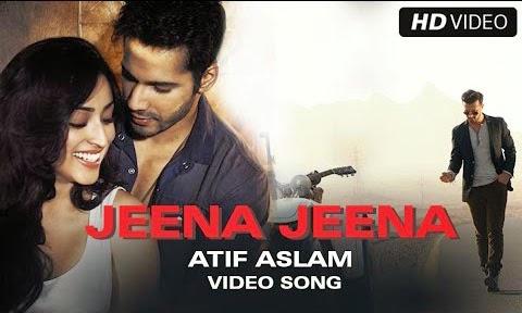 Jeena Jeena Guitar Tabs Atif Aslam, Varun Dhawan, Nawazuddin Siddiqui, Yami Gautam, Huma Qureshi - Badlapur