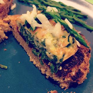 frittatine di asparagi selvatici e pecorino toscano
