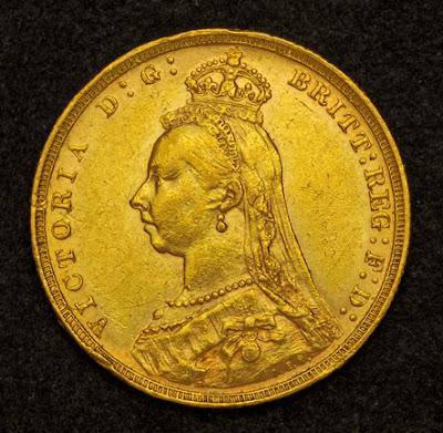 British Sovereign invest Gold Bullion Coin Queen Victoria