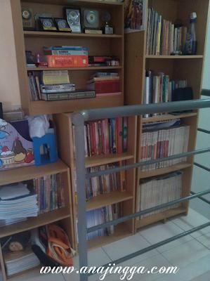 ruang bacaan di rumah