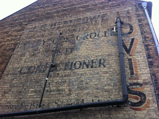 Ghost sign in Jericho, Oxford