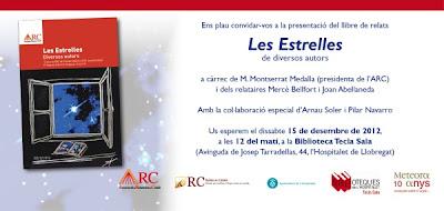 Invitació presentació 'Les Estrelles'