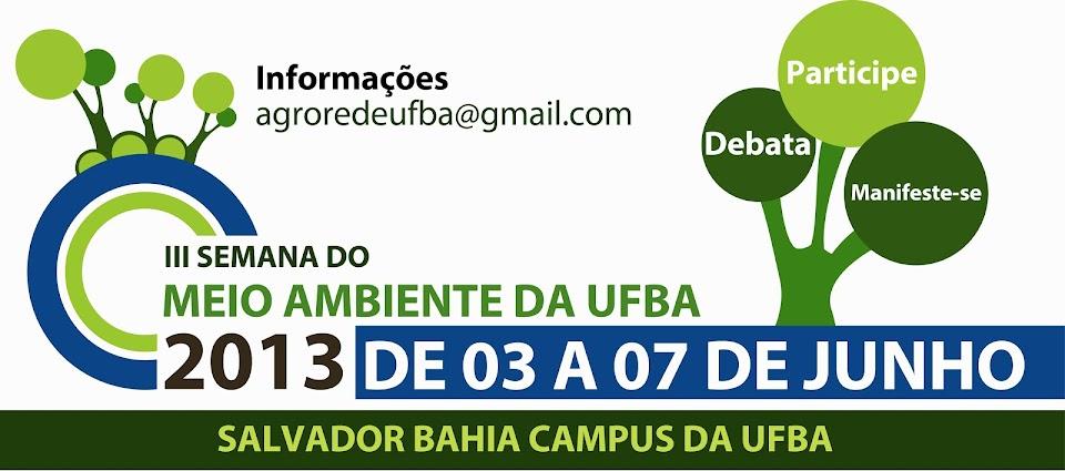III Semana do Meio Ambiente da UFBA