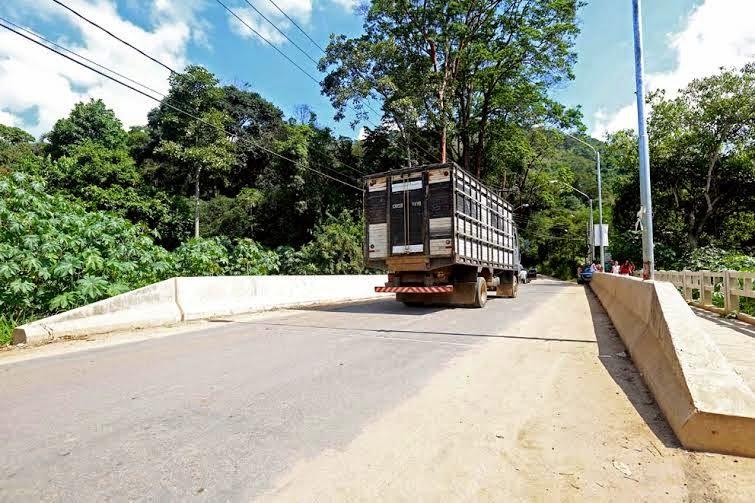 Ponte Rio Lambari - Sumidouro RJ