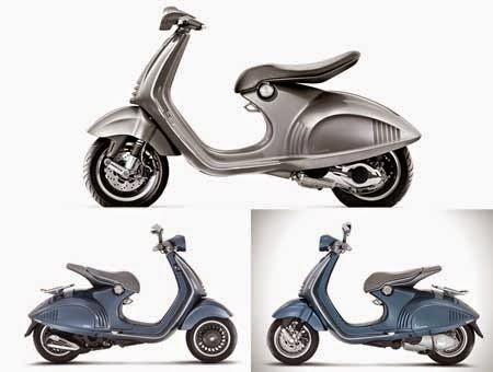 Gambar Motor Vespa 946 Bellissima