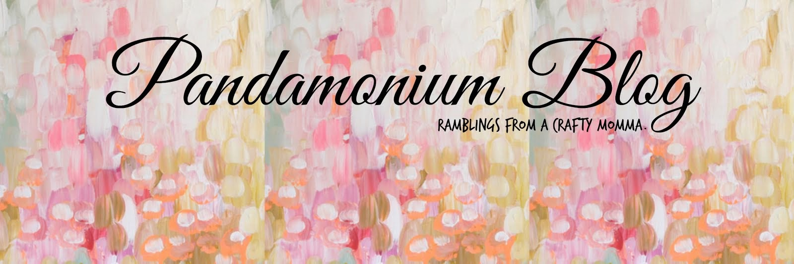 Pandamonium Blog - Ramblings of a New Momma!