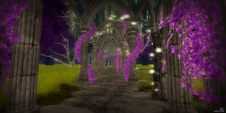 Second Life Review of Paradise of Fantasy Sim