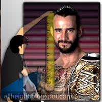 CM Punk Height - How Tall