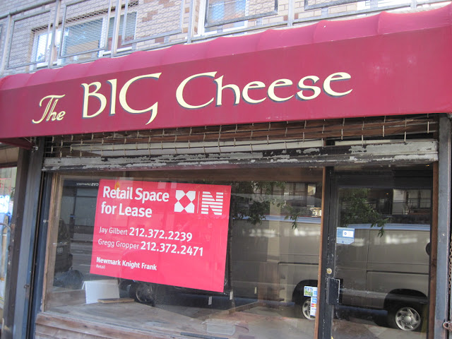 The Big Cheese is no more in New York