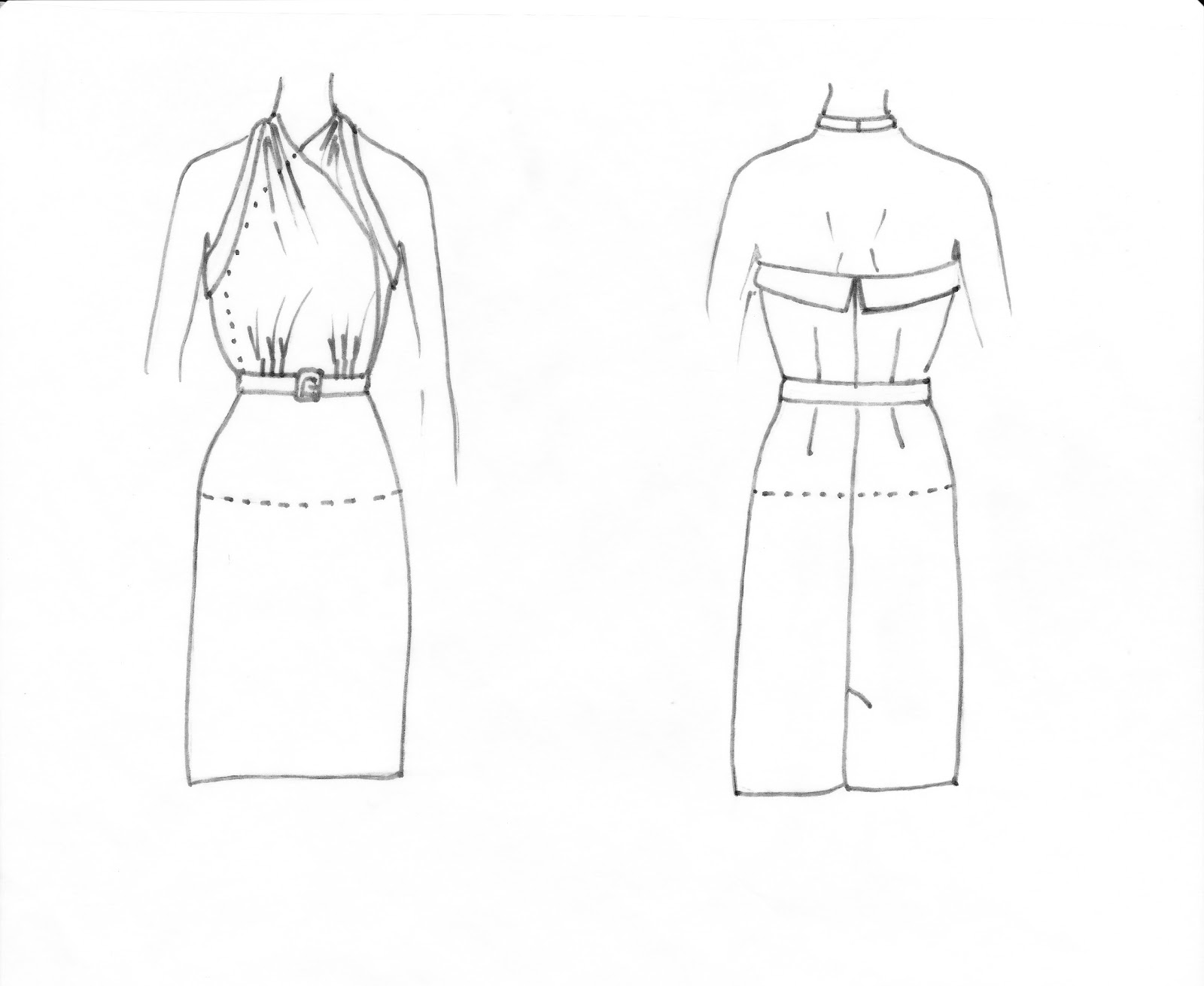 Line Drawing Dress : The gallery for gt a line wedding dress sketch