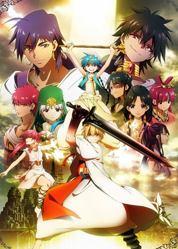 Magi : The Kingdom of Magic 11