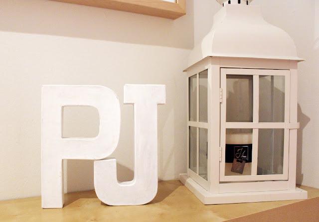 letras pintadas decoracion