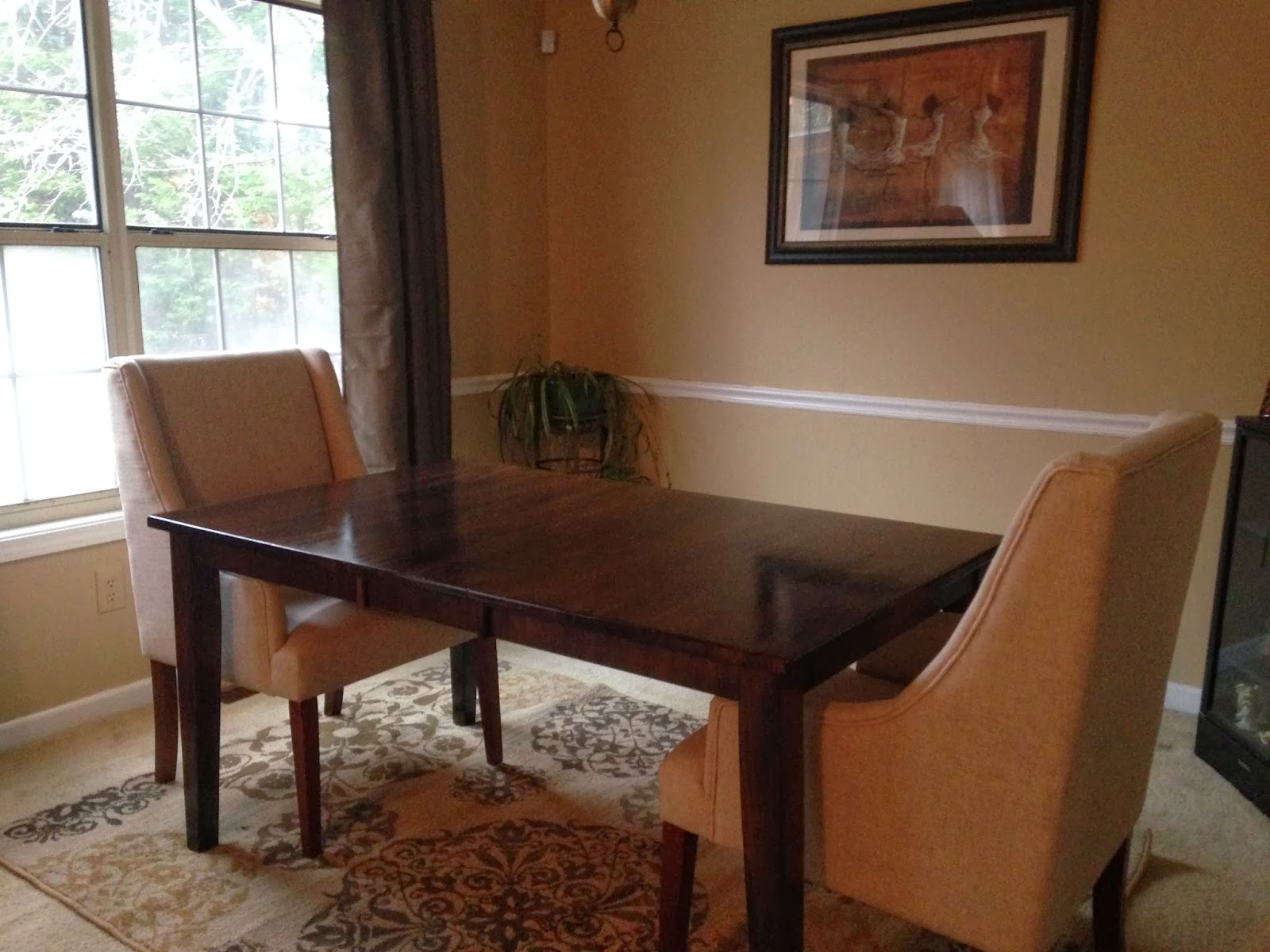 Behind the Big Green Door: A Dining Room Makeover Surprise for Mom
