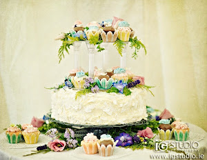 Woodland Fairy Wedding Cake