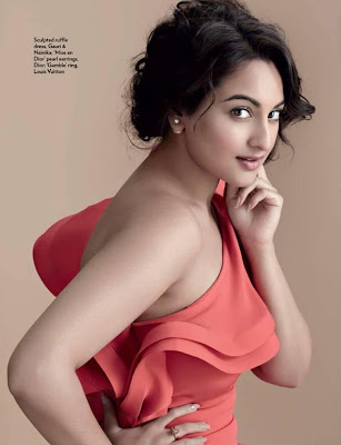 Sonakshi Sinha Hot Photoshoot For Marie Claire Magazine July 2013