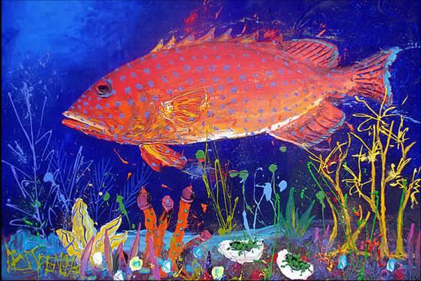 Coral Reef Fish Drawings   Photo#24
