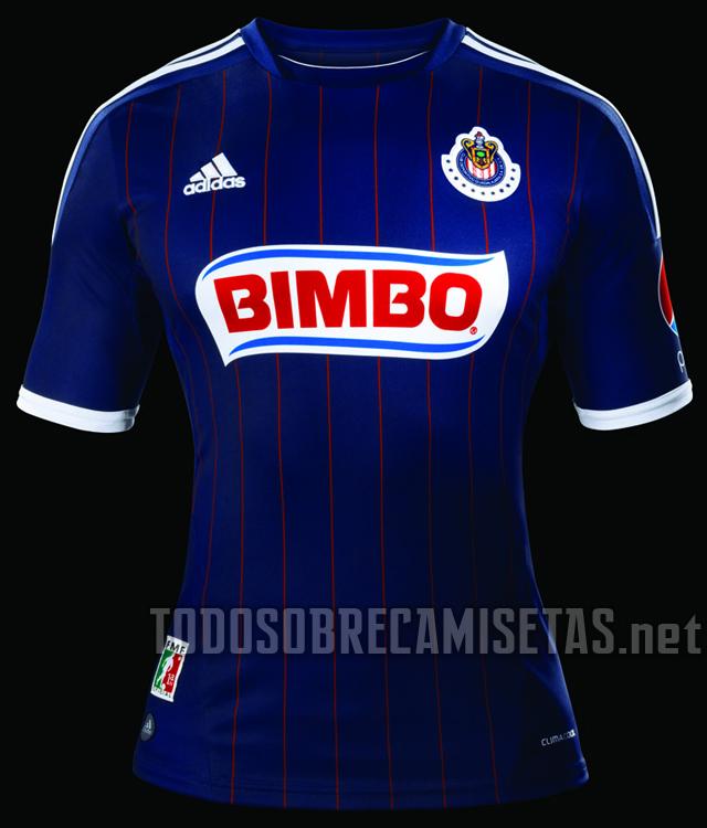 El nuevo uniforme de visitante de las Chivas