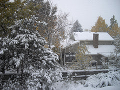 Snow in October!