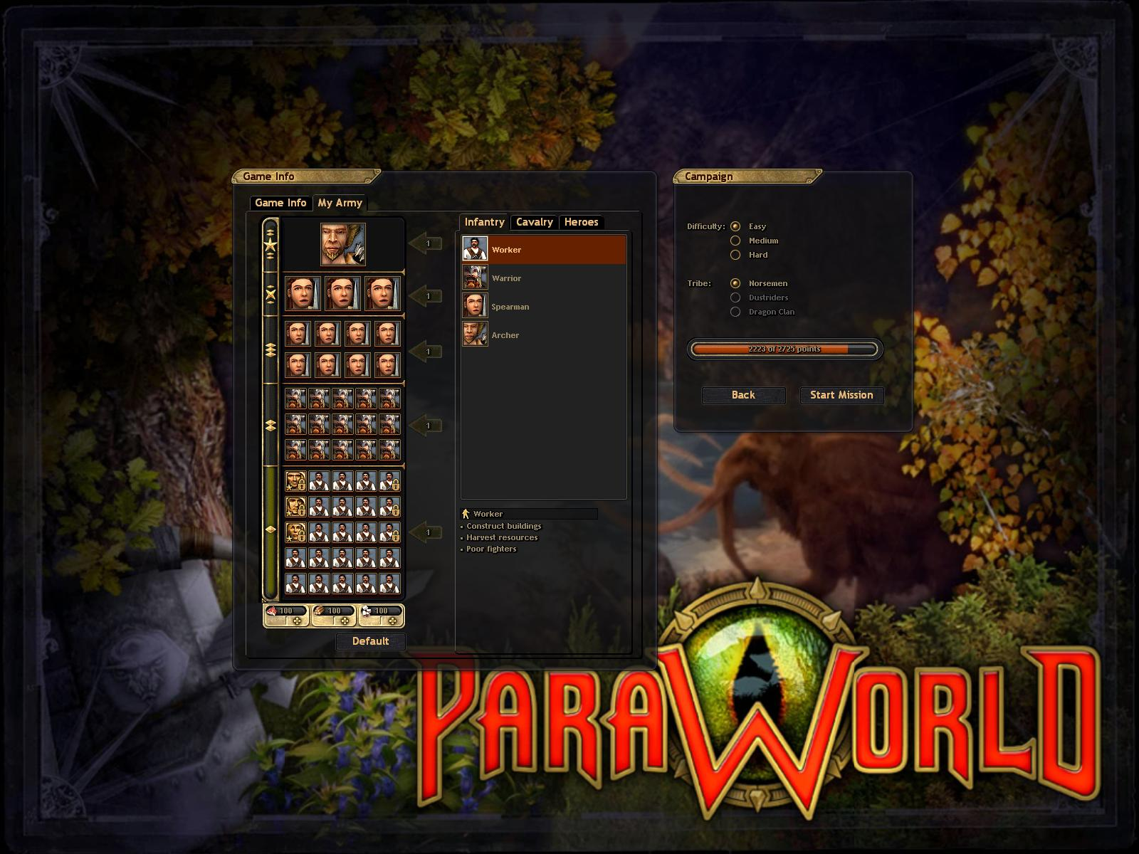 ParaWorld (Gold Edition) for Windows - MobyGames