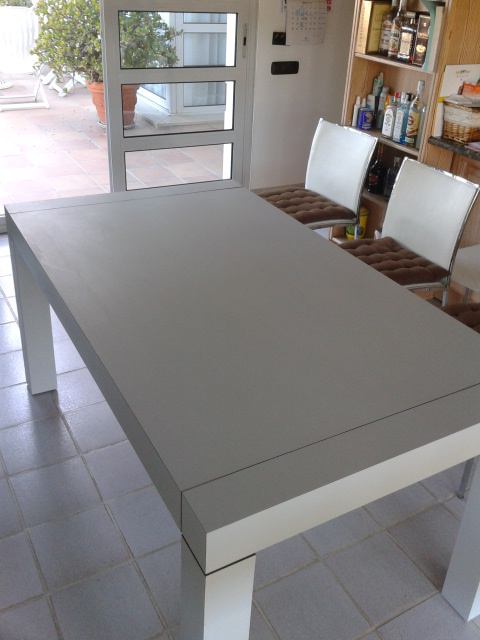 Opemho sl mesa de formica for Formica madera