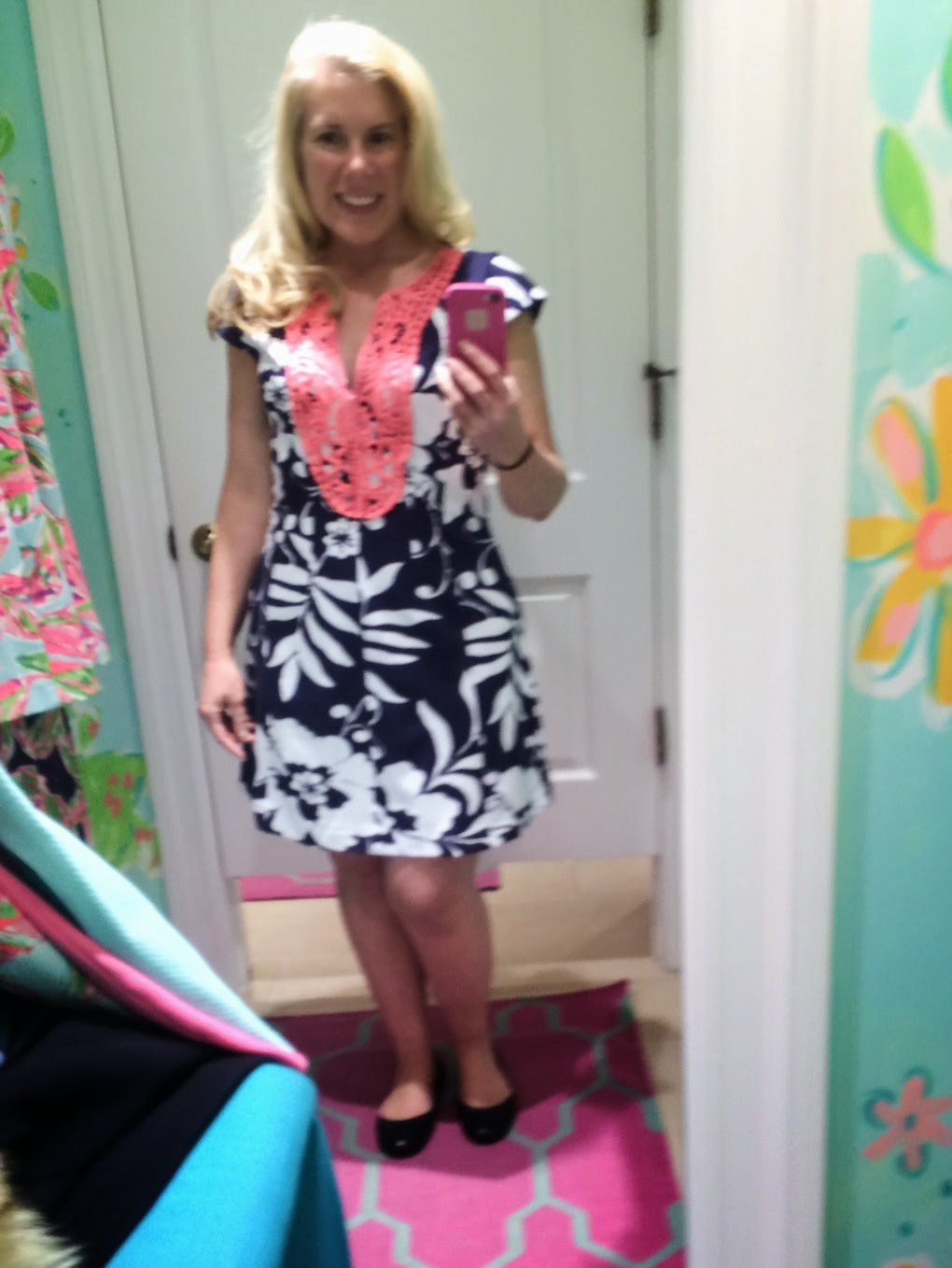 lilly pulitzer briella dress review johnny b print