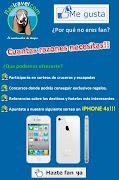 Ya pudes partipar en nuestro sorteo ende un Iphone 4s (portada facebook)