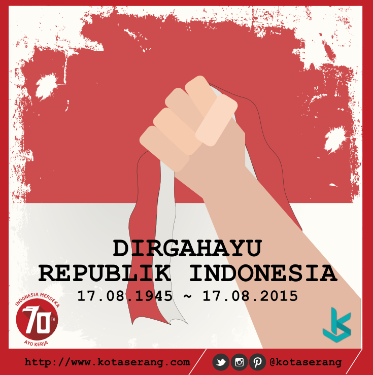 Gambar Vector - Gambar Dirgahayu Republik Indonesia Ke-70 17 Agustus 2015