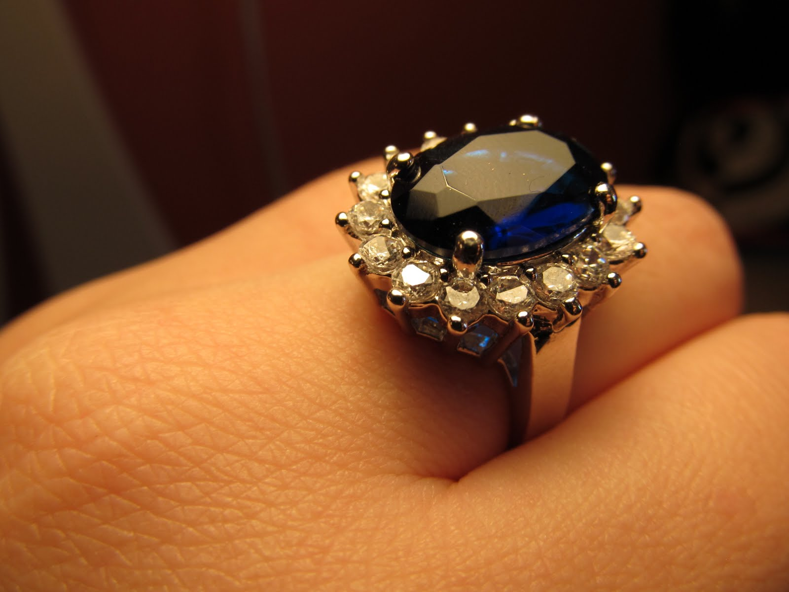 The Makeup Addict 86: Kate Middleton Inspired Sapphire Ring