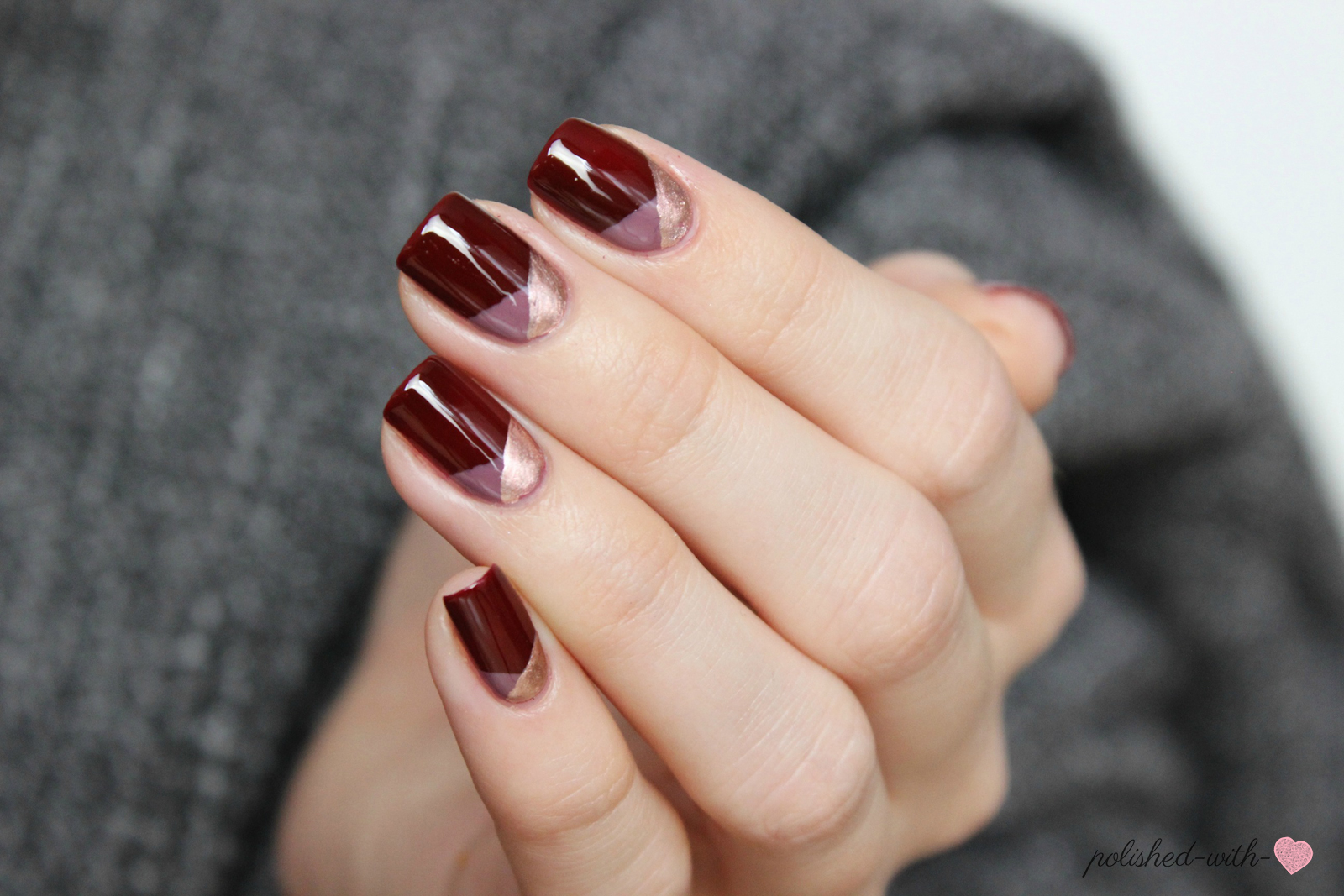 Polished with love blogparade fall in essielove mein for Bordeaux design