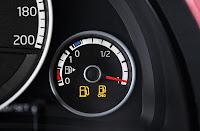 Volkswagen Eco Up! 5-Door (2012) Fuel Gauges Detail