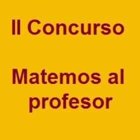 Cartelera semanal kya ii concurso matemos al profesor for Concurso profesor