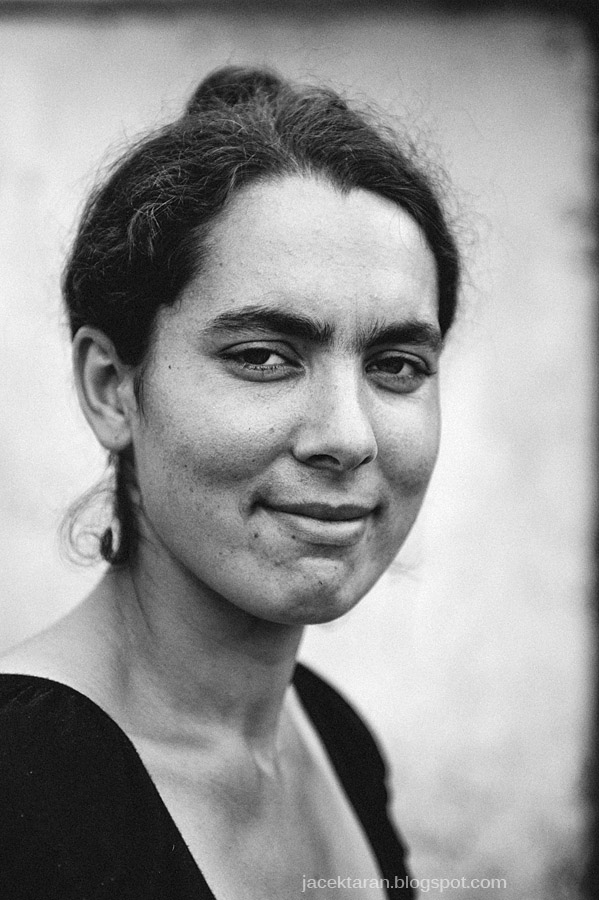 kobieta, cyganka, rom, romowie, portret, jacek taran