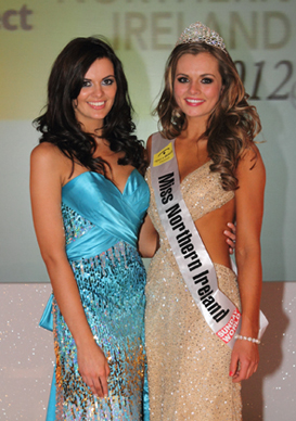 Miss Northern Ireland 2012 winner Tiffany Brien