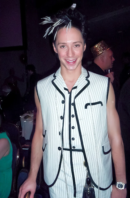 Johnny Weir. Photo © Elizabeth T. Lara @ Official Johnny Weir Blog.