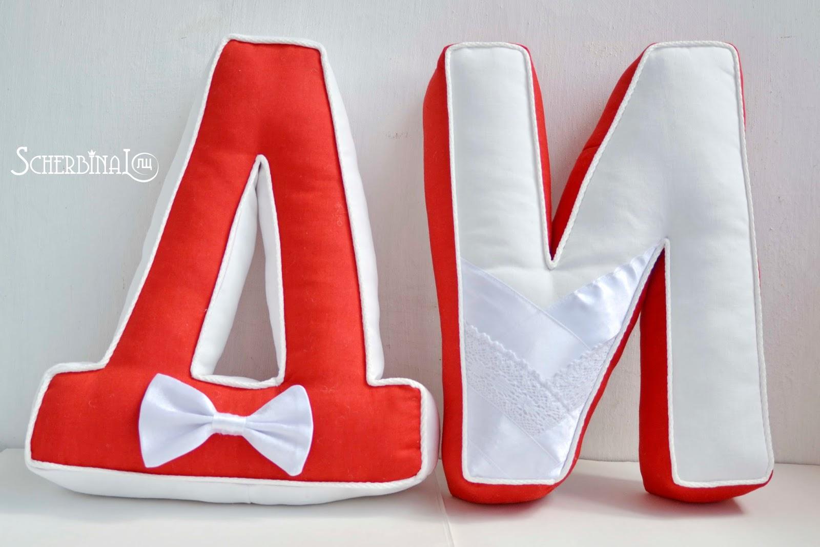 Как сделать буквы на свадьбу своими руками фото