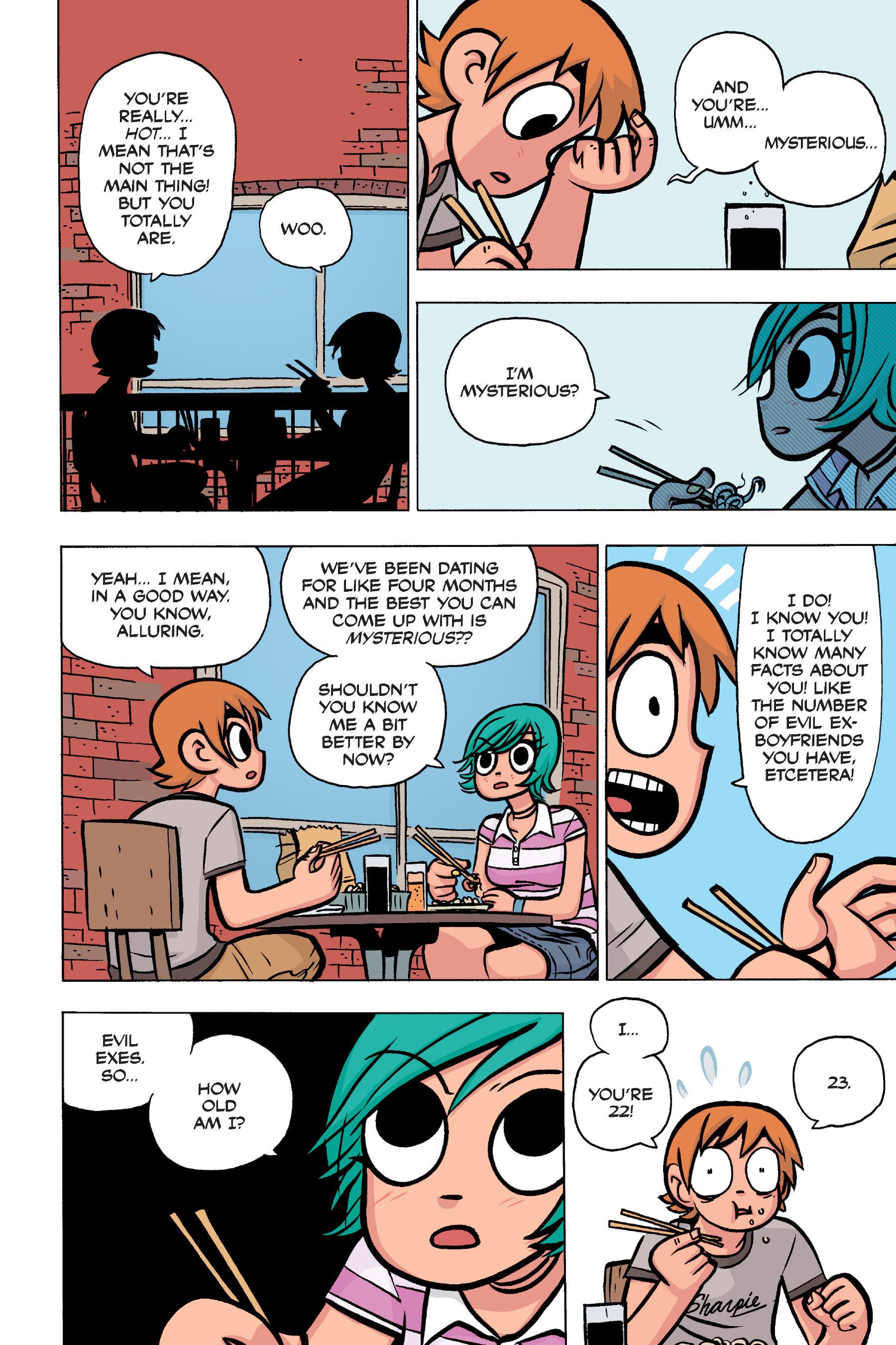 Read online Scott Pilgrim comic -  Issue #4 - 30