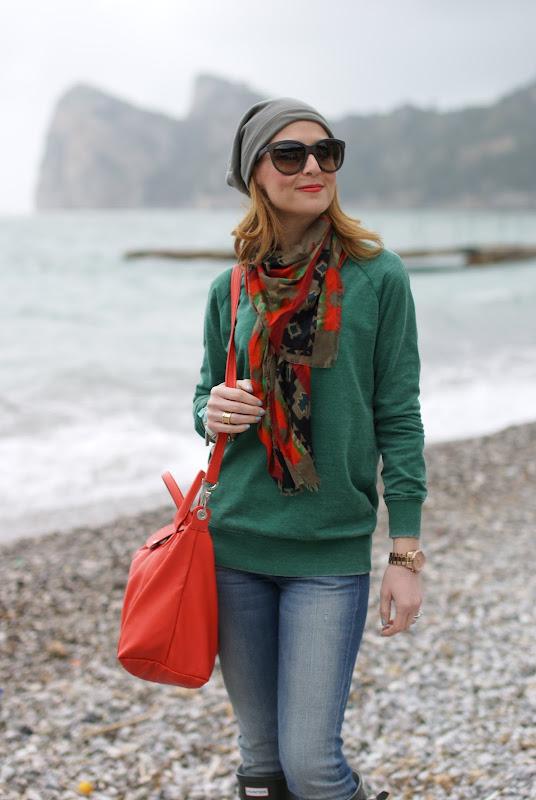 Hunter boots, Longchamp bag, Fashion and Cookies