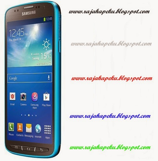 Harga Samsung Galaxy S4 Active Dive Blue Terbaru Lengkap Spesifikasi, Keunggulan Memory Internal 16 GB