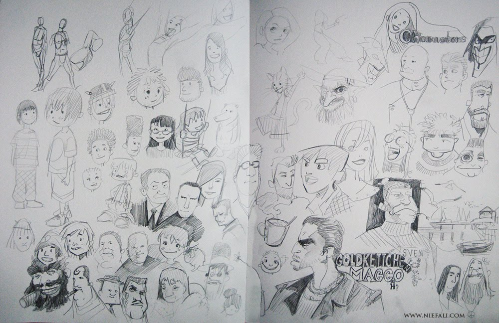 Vaejoun - Sketchbook +++
