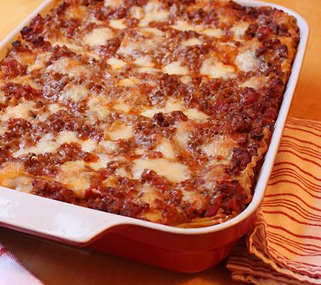 American Lasagna Recipes — Dishmaps