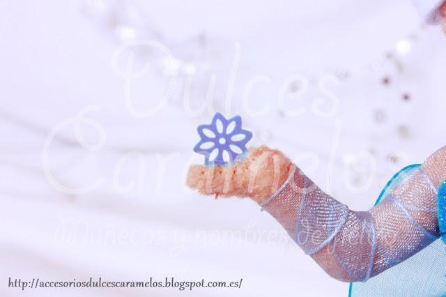 Muñeca Elsa, frozen, Fieltro