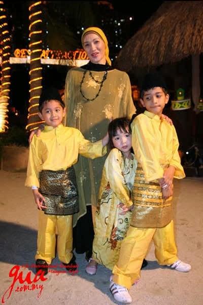 Keluarga Wan Nor Azlin dan Anak-Anak Selepas Bercerai